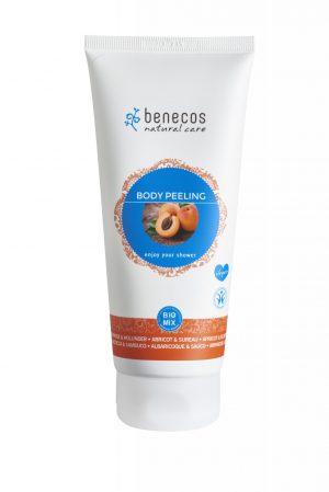 BENECOS - Exfoliante corporal de albaricoque y saúco