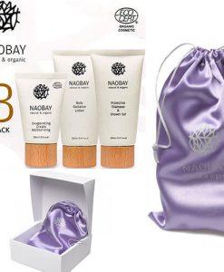 Naobay - Pack 3: Cuidado facial y corporal