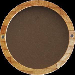 ZAO - Sombra de ojos mate - 203: Brun Foncé