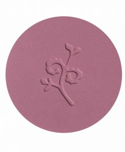benecos Natural Compact Blush mallow rose swatch