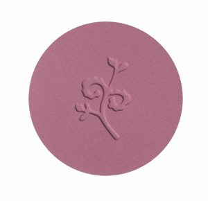 benecos Natural Compact Blush mallow rose swatch